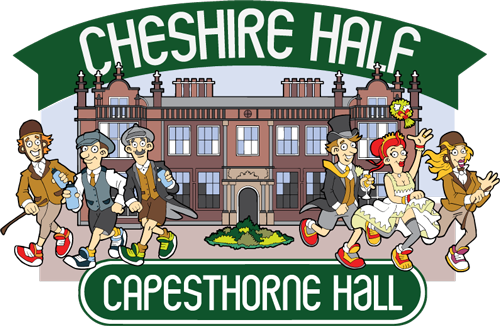 Cheshire Half Marathon at Capesthorne Hall, Warrington