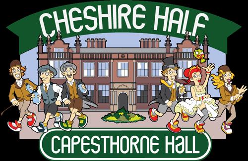 Cheshire Half Marathon at Capesthorne Hall, Warrington